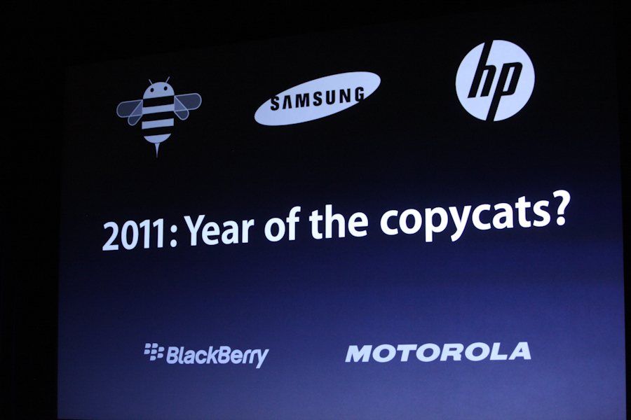 2011 - Ano dos copiadores (Year of the copycats)