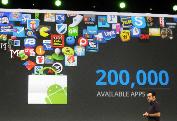 200.000 apps disponíveis para Android