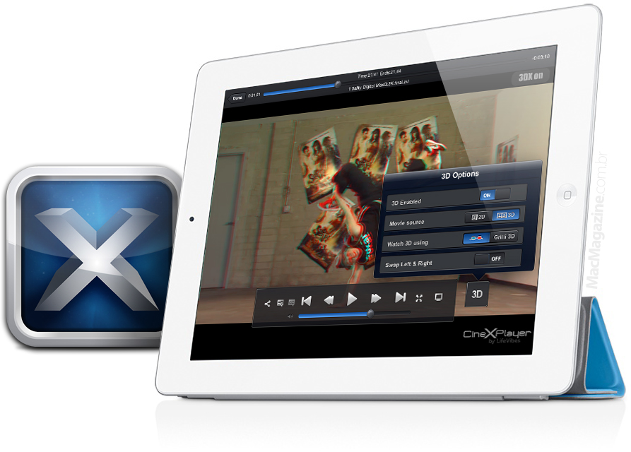 CineXPlayer 3D - iPad