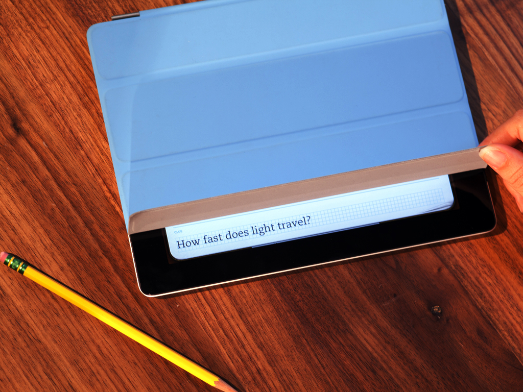 Evernote Peek para o iPad 2 com Smart Cover
