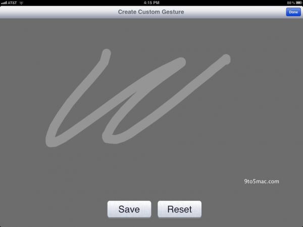 Editor de gesso no iOS 5