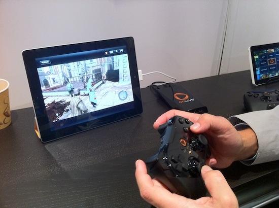 Jogando em um iPad com OnLive