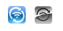 Símbolo do Wi-Fi Sync