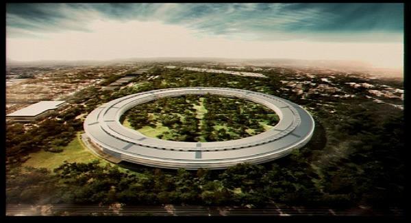 Novo campus da Apple em Cupertino