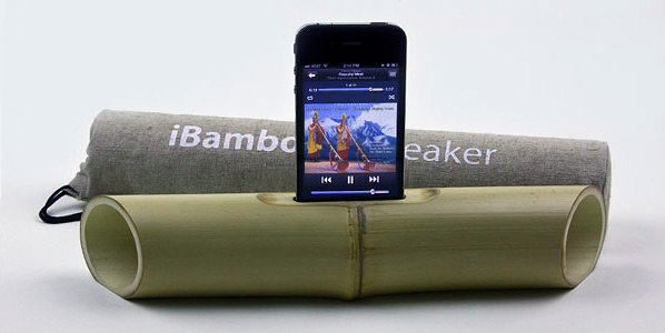 iBamboo Speaker for iPhone 4