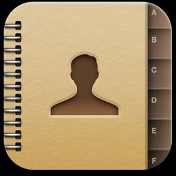 Ícone de contatos no iOS