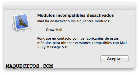 Message 5.0 no OS X Lion