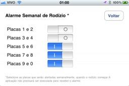 Rodízio SP - iPhone
