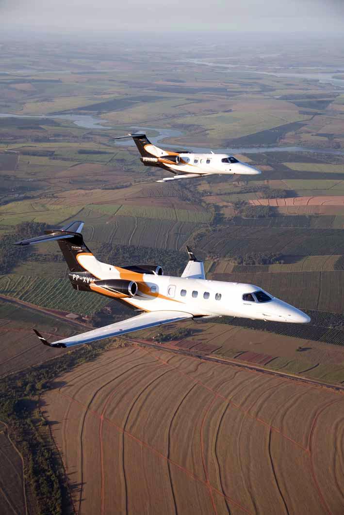 Embraer - Phenom 100 e Phenom 300