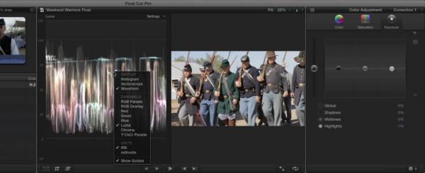 Final Cut Pro X - screenshot vazada?