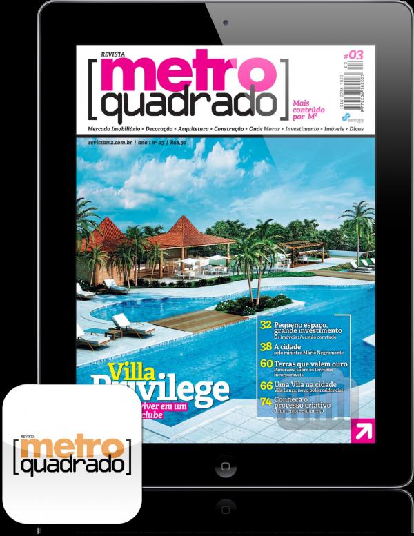 Revista Metro Quadrado - iPad