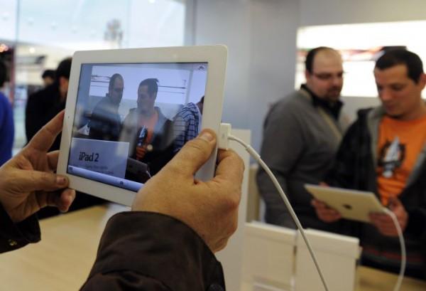 iPad 2 em loja
