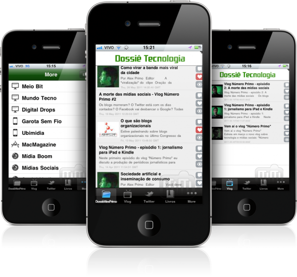 Dossiê Tecnologia em iPhones
