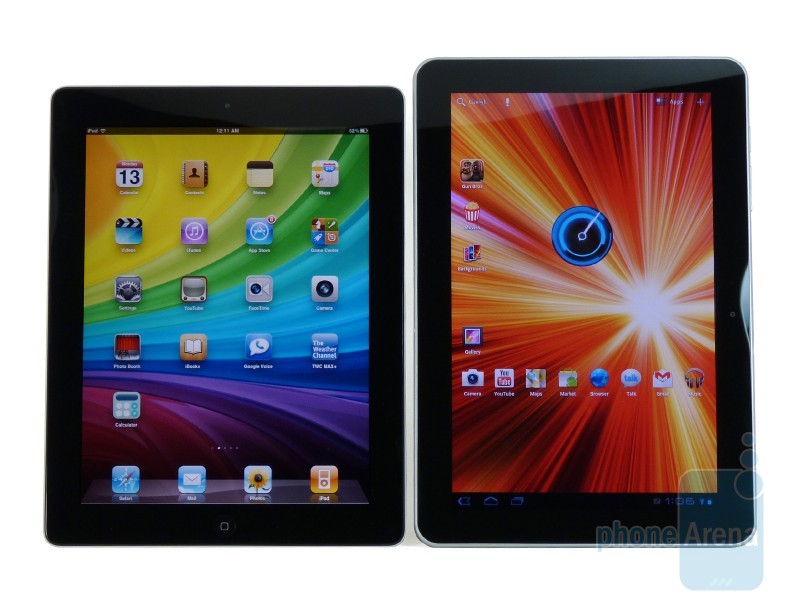 Samsung Galaxy Tab 10.1 vs. Apple iPad 2
