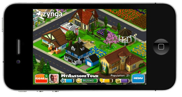 CityVille no iPhone