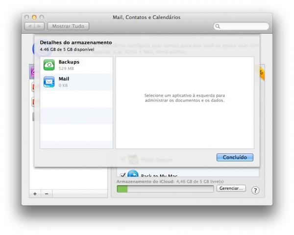 iCloud no Lion