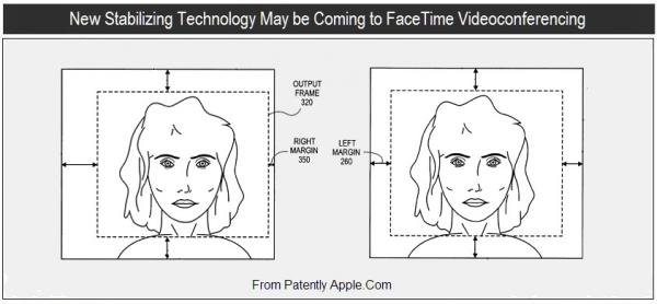 Patente de estabilização de imagem no FaceTime