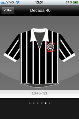 Todas as Camisas da História do Corinthians - iPhone