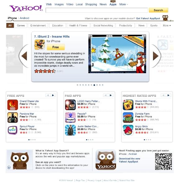 Yahoo! App Search