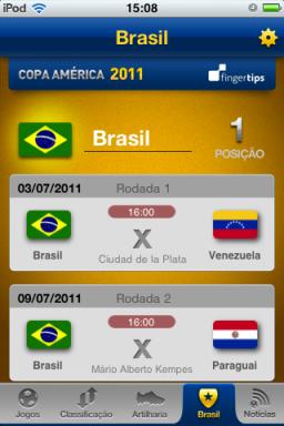 Copa América - iPhone