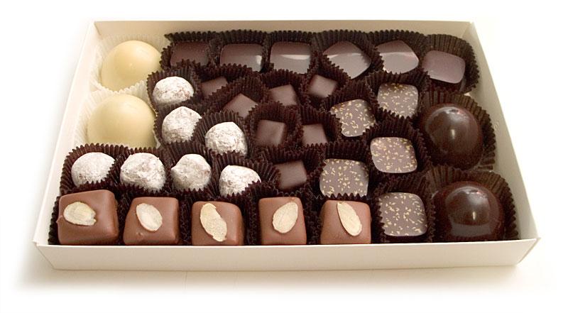 Caixa de chocolate - Brett Wilson