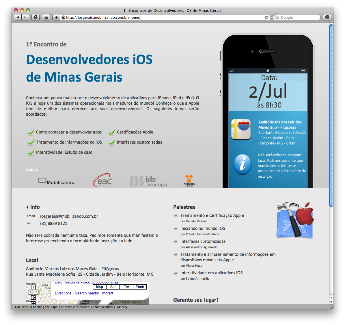 Encontro iOS MG