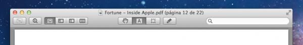 Pré-Visualização (Preview) no OS X Lion