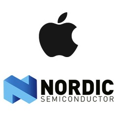 Apple e Nordic Semiconductor