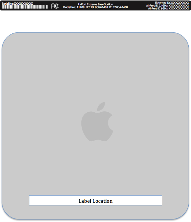 AirPort Extreme na FCC