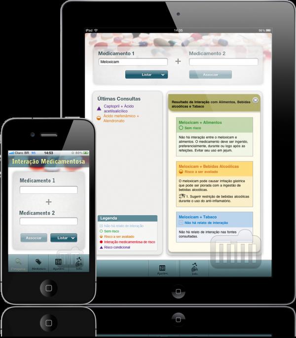 Interação Medicamentosa - iPhone e iPad