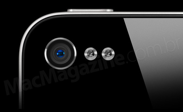 iPhone com dual flash LED