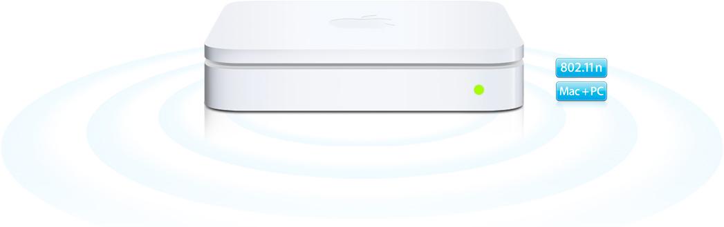 Base AirPort Extreme Wi-Fi 802.11n