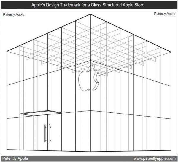 Registro do cubo de vidro da 5th Avenue