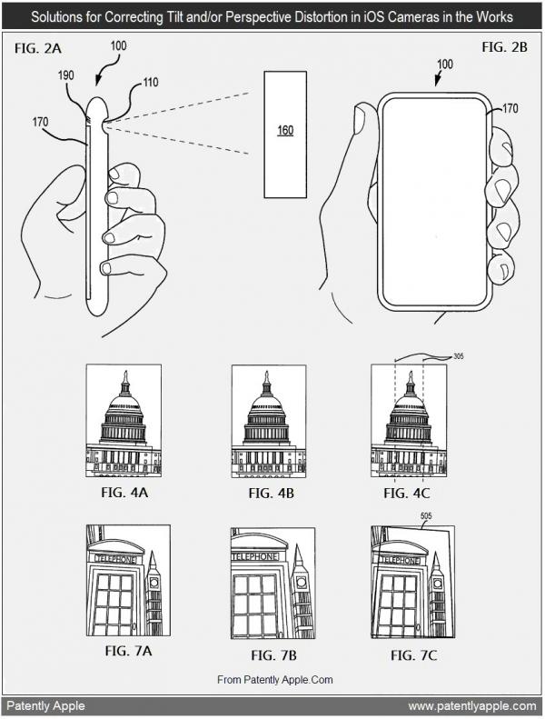 Patente de lente que corrige ângulo e perspectiva