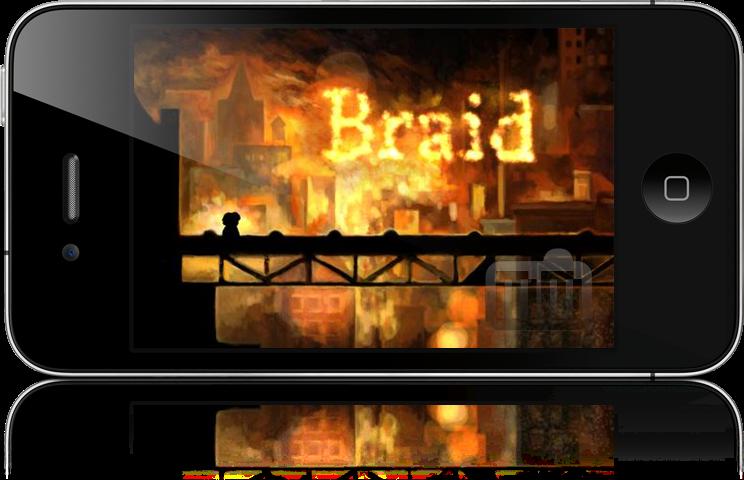 Mocukp de Braid no iPhone