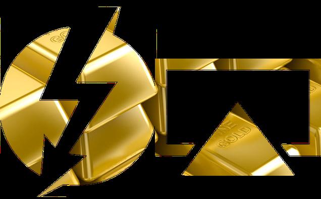 Thunderbolt e AirPlay feitos de ouro