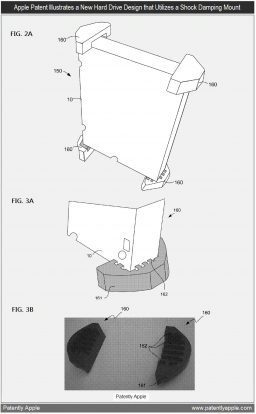 Patente de amortecimento para HDDs