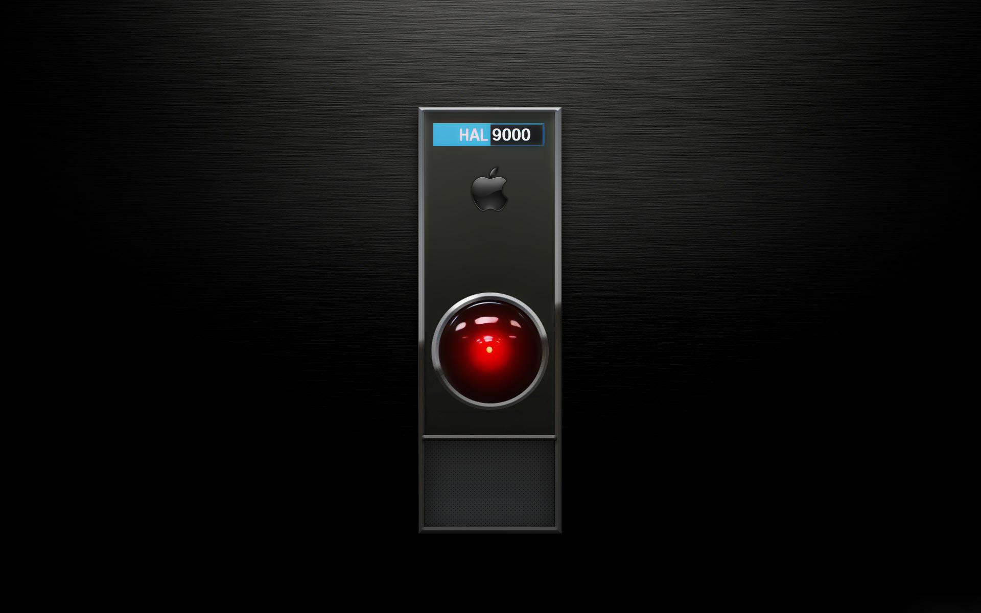 HAL 9000 - Montagem Apple