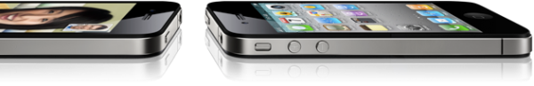 iPhones 4 deitados