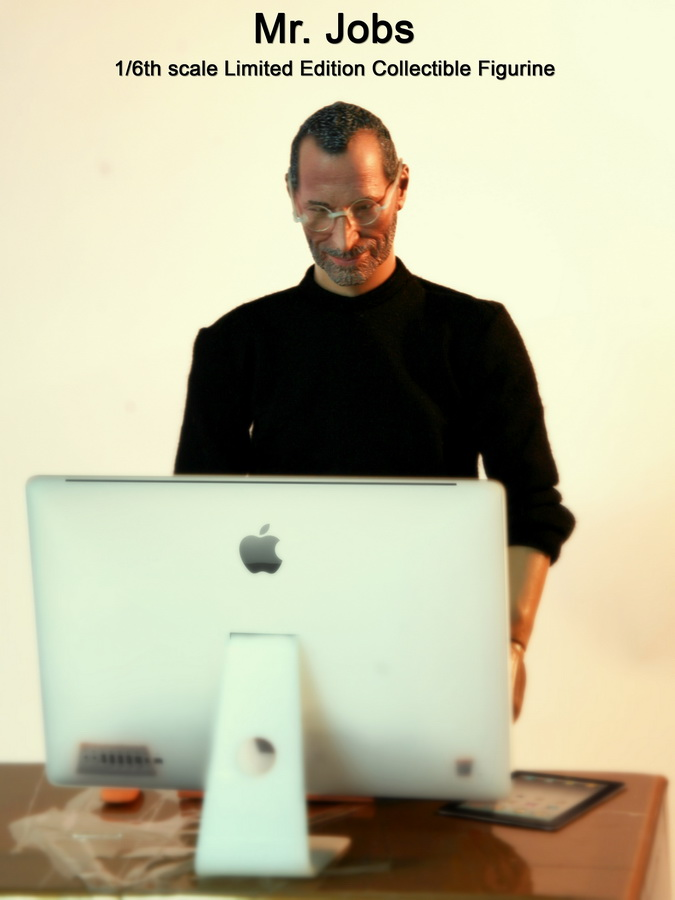 Action figure de Steve Jobs