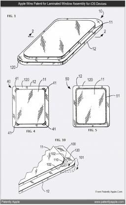 Patente de laminação em telas de gadgets