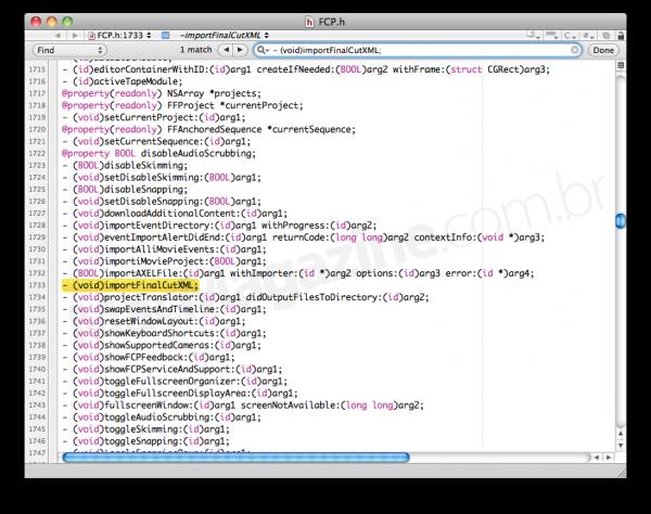 XML no Final Cut Pro X