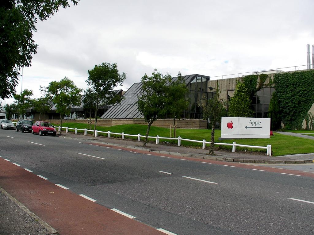 Filial da Apple em Cork, na Irlanda