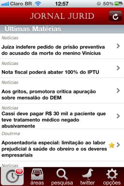 Jornal Jurid - iPhone