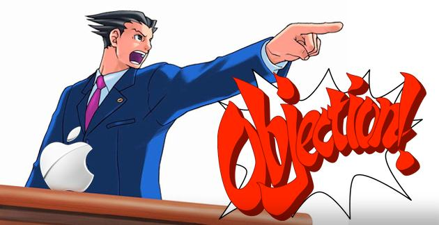 Apple Ace Attorney - OBJECTION!