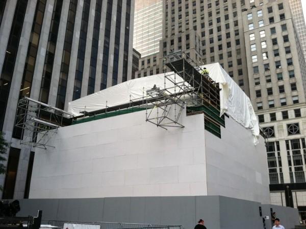 Reforma na Apple Retail Store da Quinta Avenida, em NYC