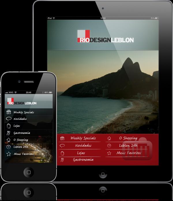 Rio Design Leblon - iPad e iPhone