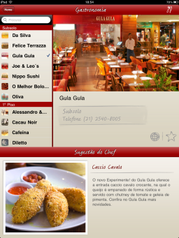 Rio Design Leblon - iPad