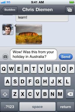 Verbs - iPhone