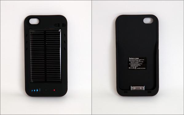 Carregador solar Green Power para iPhone 4